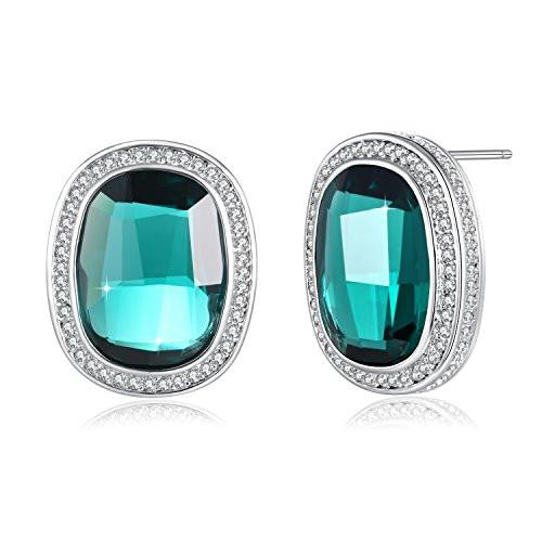 Stud Earrings Blue For Lover