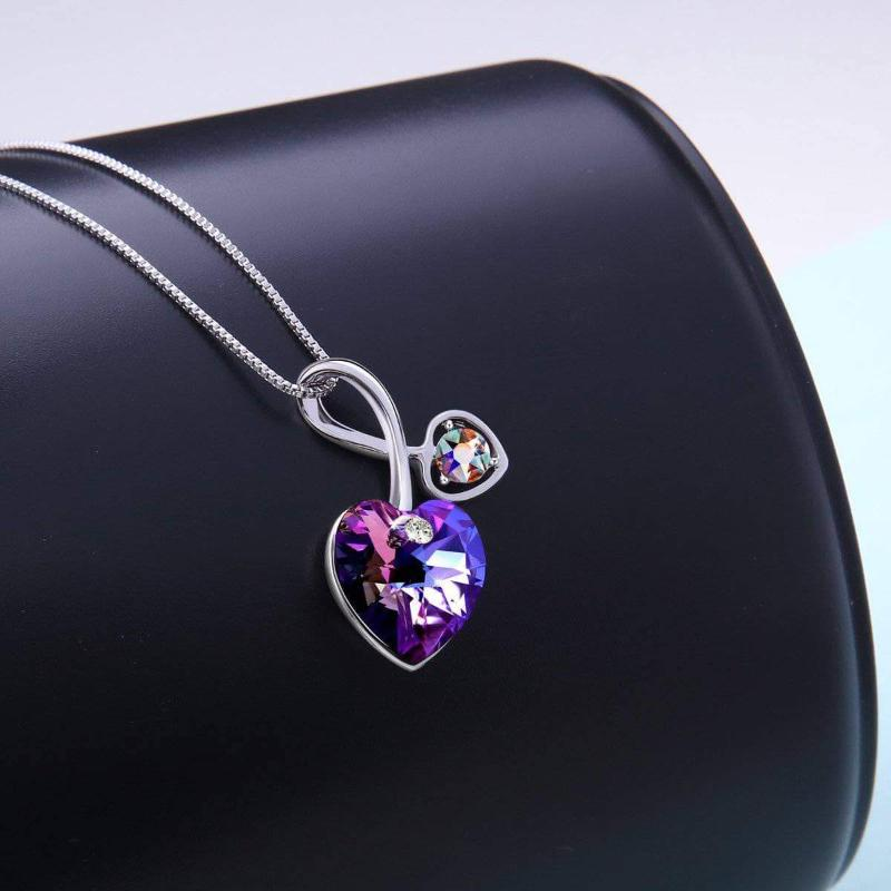 Soul-Mate Violet Necklace