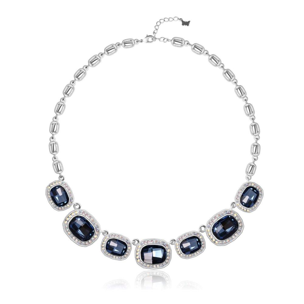 TABITHA SIMMONS NECKLACE, MULTI-COLOURED,Rhodium Plating, Swarovski Crystals