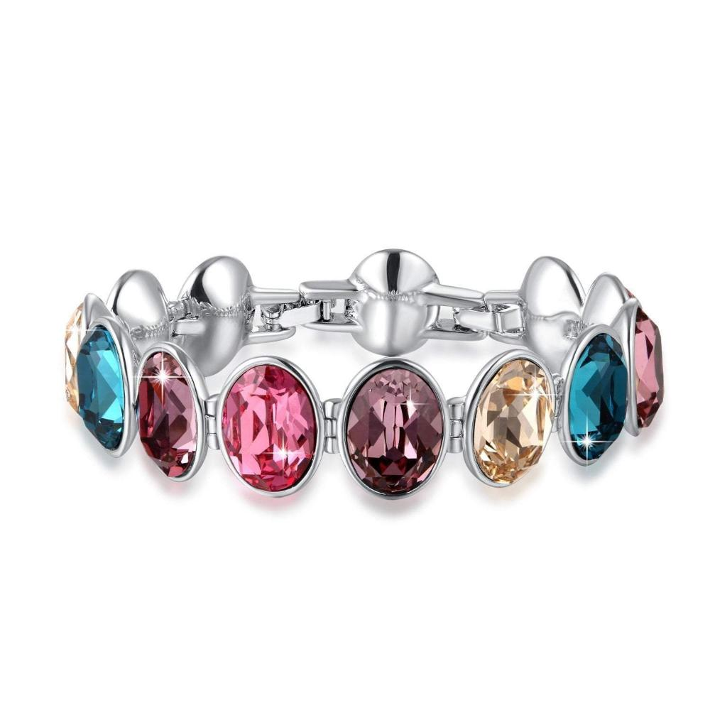 Swarovski Crystal Beautiful and colorful Gemstone Bracelets