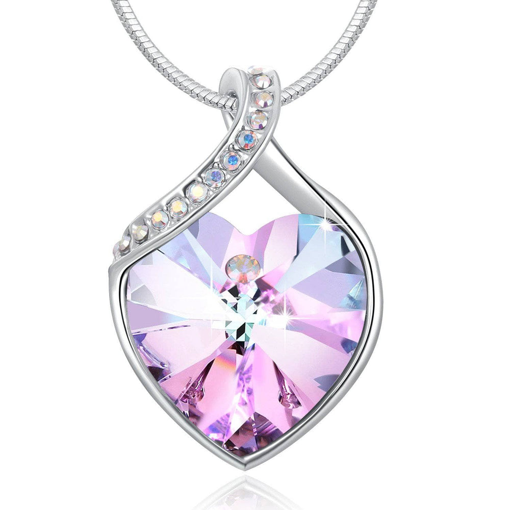 "Swarovski Crystal ""Forever Love"" Pendant Necklace