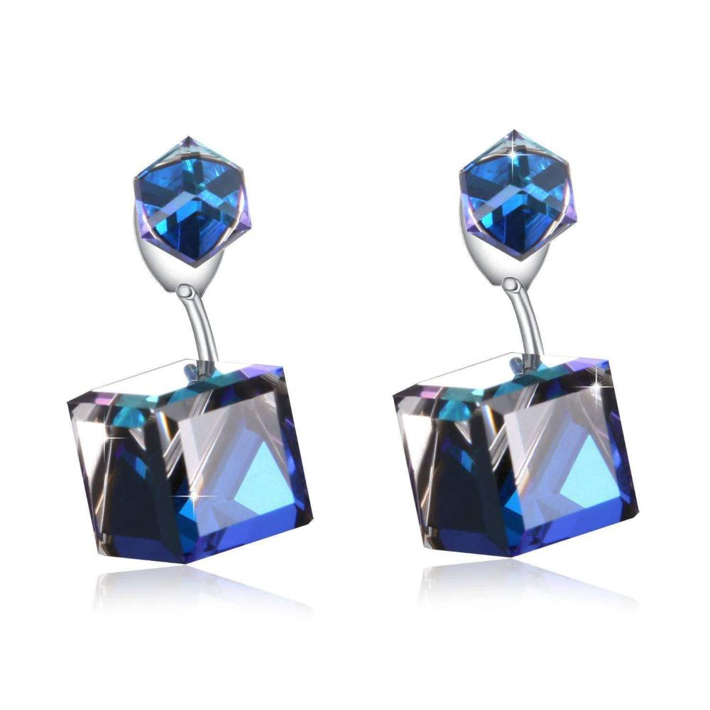 Swarovski Crystal Immortal Love Drop Dangle Earrings