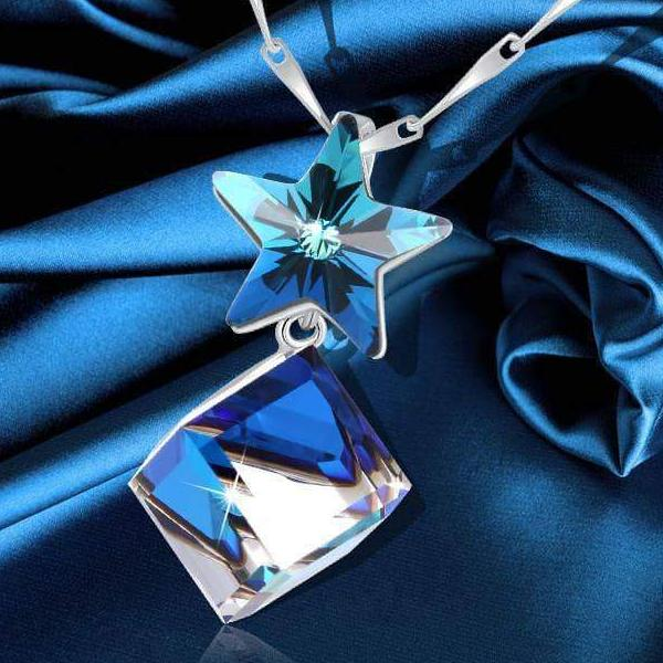 Star Cubic Necklace Gift