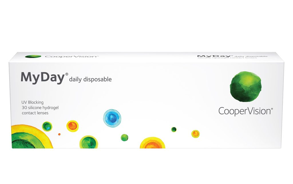 MyDay Daily Disposable - 30 pack in 30 Pack / 8.4 base curve