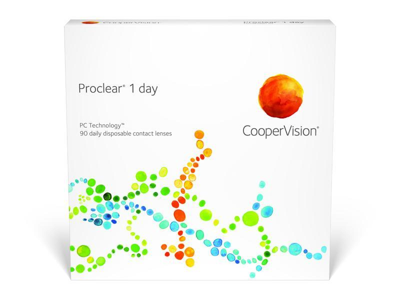 Proclear 1 Day - 90 pack in 90 Pack / 8.7 base curve