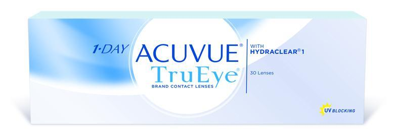 1 Day Acuvue Trueye - 30 pack in 30 Pack / 8.5 base curve