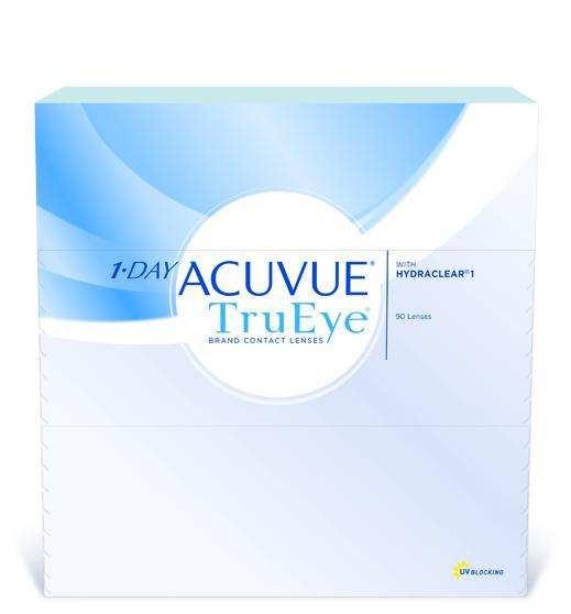1 Day Acuvue Trueye - 90 pack in 90 Pack / 8.5 base curve
