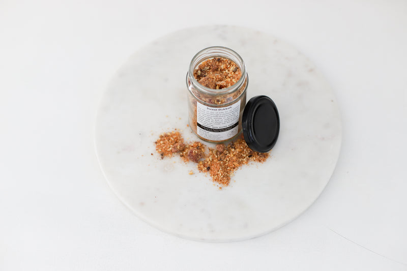 Sweet Dukkah Jar - (SECONDS STOCK- NOT FULLY LABELLED)
