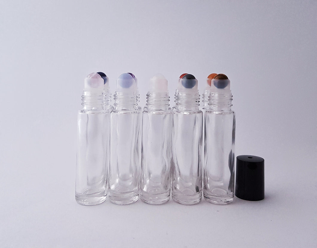 Gemstone rollers - Chakra Rollerball Kit