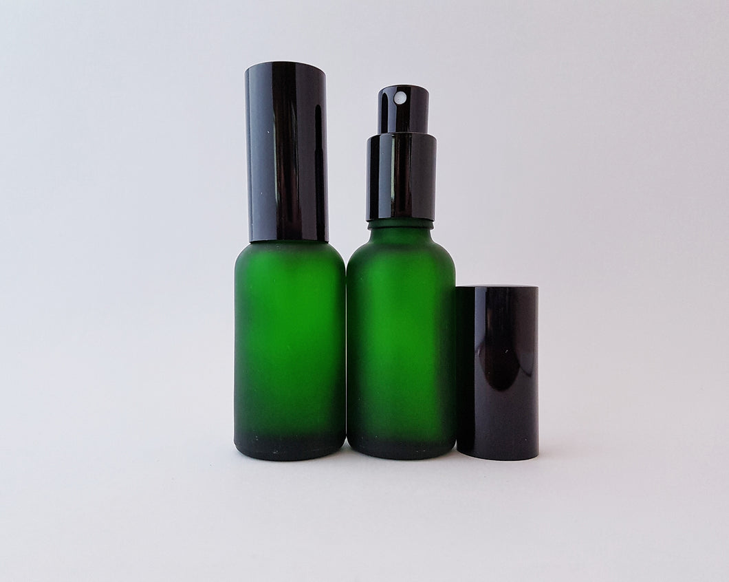 30ml Green spritzer bottles