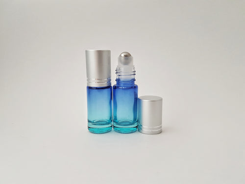5ml Blue ombre roller bottle