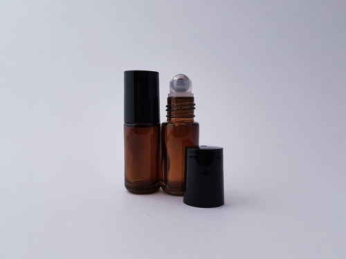 5ml Amber roller bottle