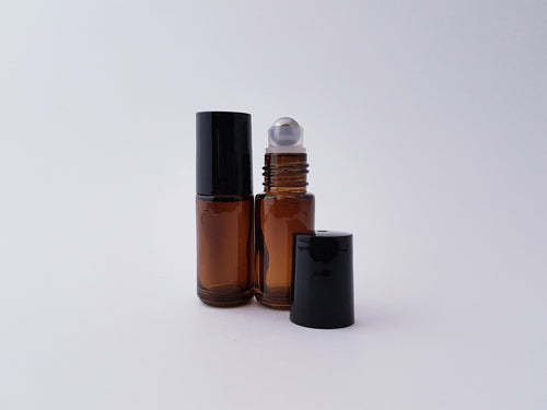 {BULK} 5ml Amber/Clear roller bottles