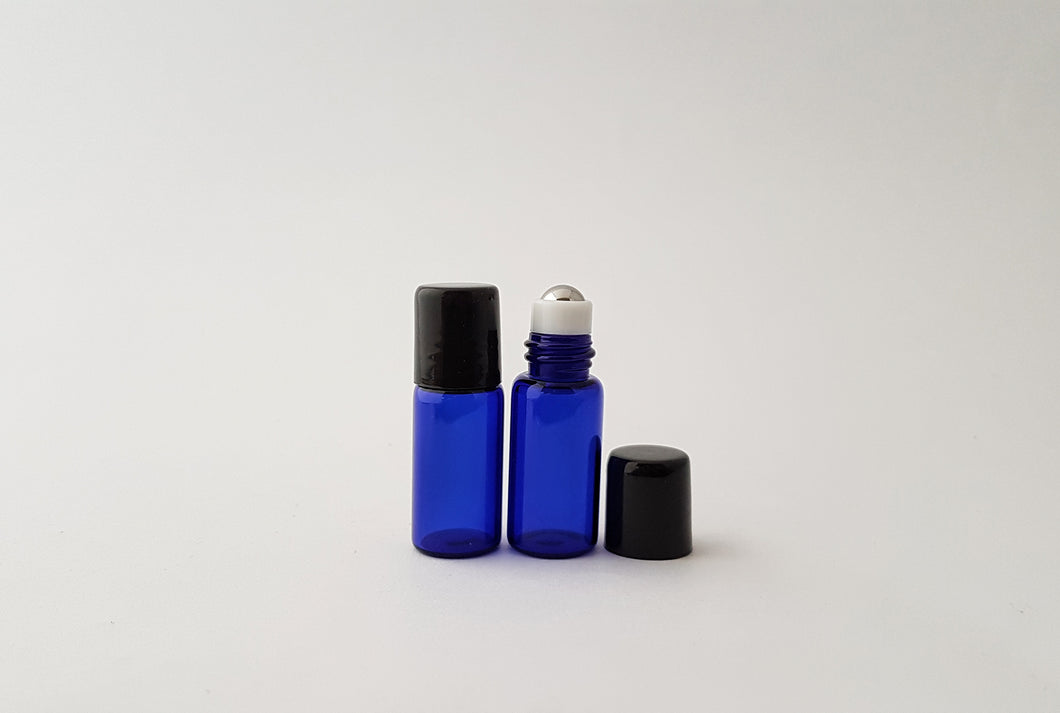 3ml Blue roller bottle