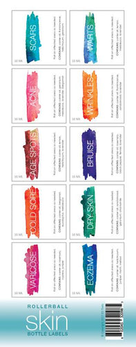 Rollerball Skin Labels