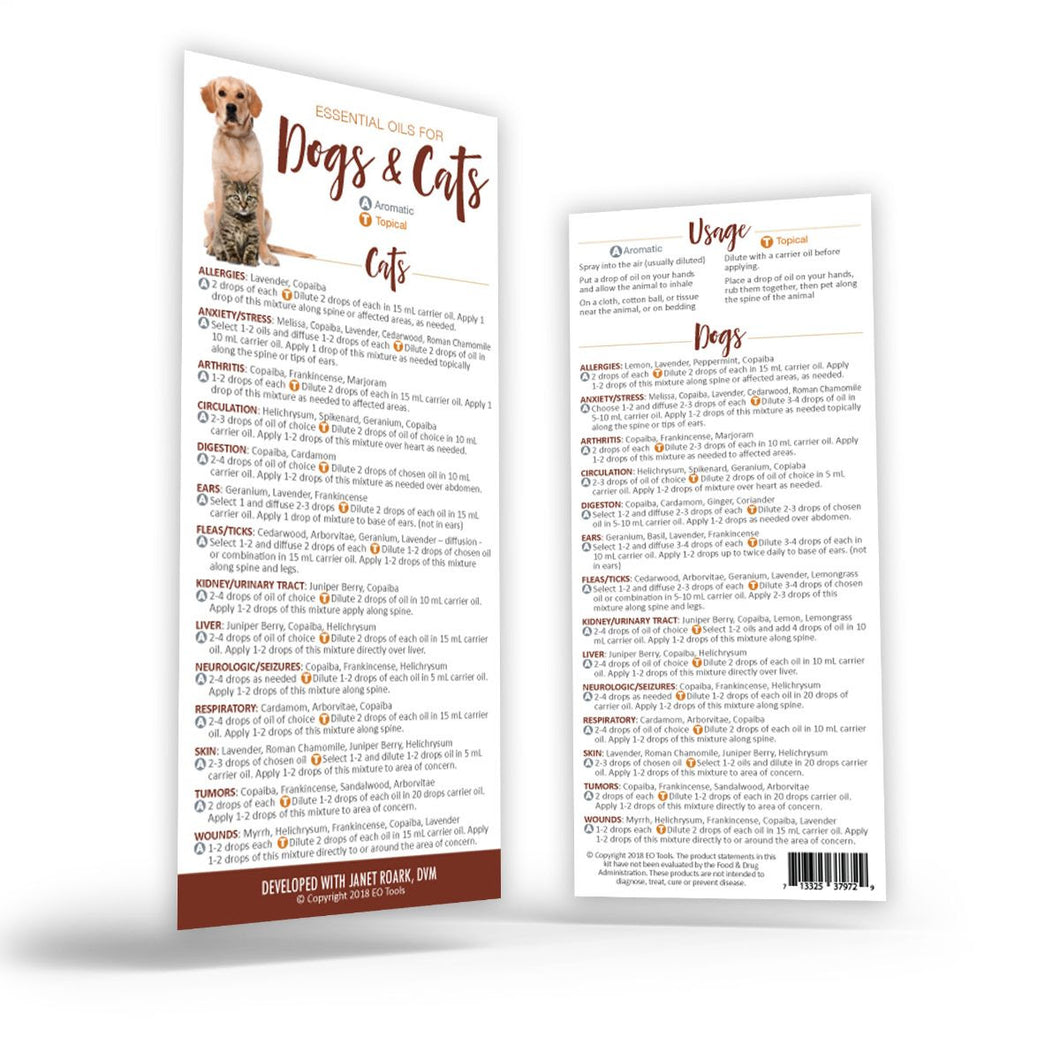 Dogs and Cats Rack Cards - Qty 25