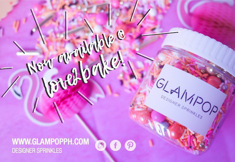 Glampop x Love2Bake co.