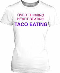 Taco Eating Women's T-shirt