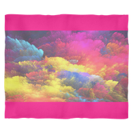 Rainbow Cloud Fleece Blankets