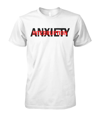 Anxiety Interruption Logo Unisex Cotton Tee