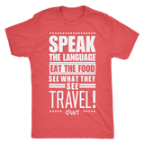 Speak the language eat the food... Mens Shirt - OWTwear