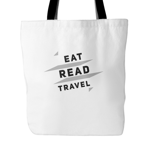 Eat, Read, Travel Tote Bag - OWTwear