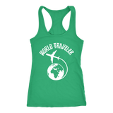World Traveler Womens Tank Top - OWTwear