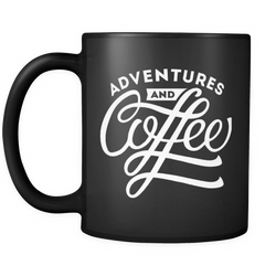 Adventures and Coffee Mug - OWTwear