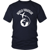 World Traveler Unisex Shirt
