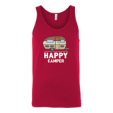 Happy Camper Unisex Tank Top - OWTwear