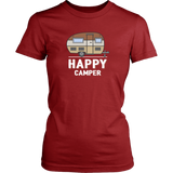 Happy Camper Womens Shirt - OWTwear