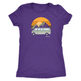 Van in the mountains womens shirt - OWTwear