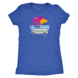 Van at the beach womens shirt - OWTwear