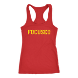 Focused Womens Racerback Tank - OWTwear