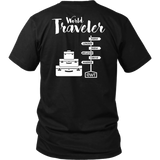 OWT and World Traveler Design Unisex Shirt (yellow) - OWTwear