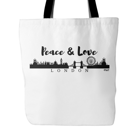 Peace and Love London Tote - OWTwear