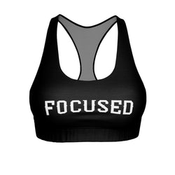 FOCUSED Women's Cut & Sew Sports Bra - OWTwear