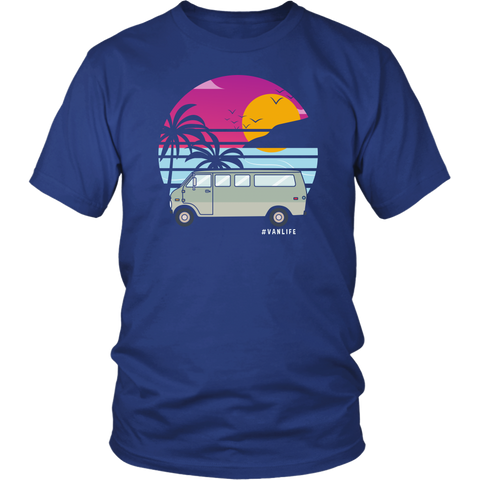 Van at the beach unisex shirt - OWTwear