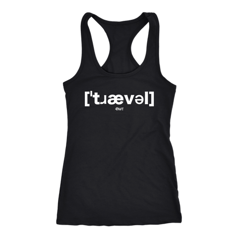 Travel IPA Racerback Tank Top - OWTwear