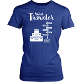 Word Traveler Womens Shirt - OWTwear