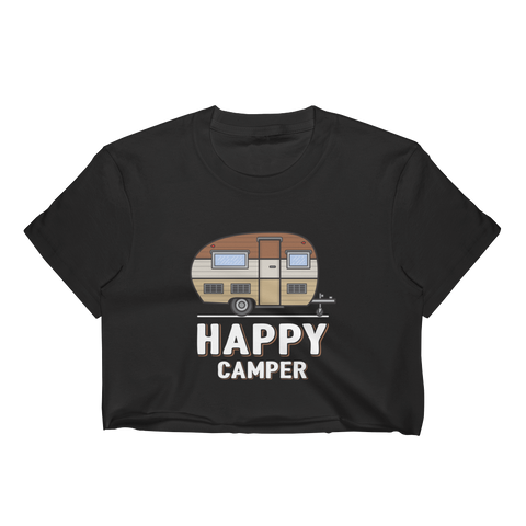 Happy Camper Women's Crop Top - OWTwear