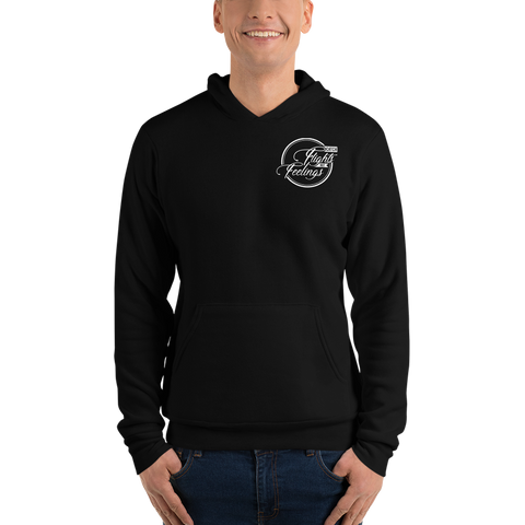 Catch Flights Not Feelings Unisex hoodie - OWTwear