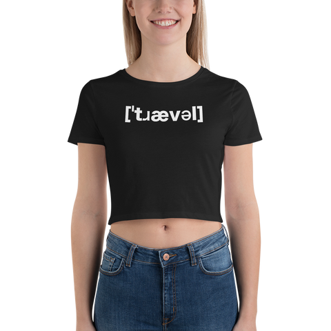 Travel IPA Women's Crop Tee - OWTwear