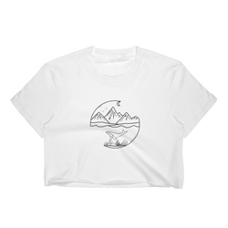 OWT and Tidal Tee's collaboration Women's Crop Top - OWTwear
