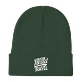 Eat Read Travel Knit Beanie - OWTwear