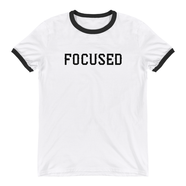 Focused Ringer T-Shirt - OWTwear