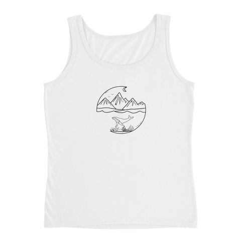 OWT and Tidal Tee's collaboration Ladies' Tank - OWTwear