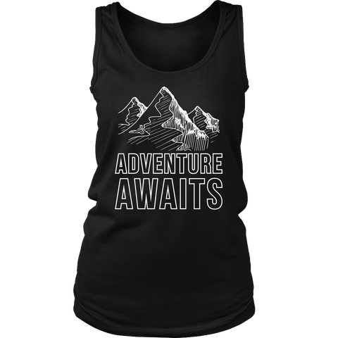Adventure Awaits Womens Tank - OWTwear
