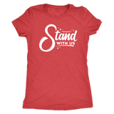 Stand With Us Women's Shirt - OWTwear