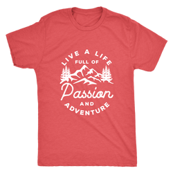 Live a life full of passion and adventure Mens Shirt - OWTwear
